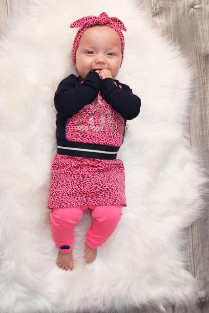babykleding met kleur