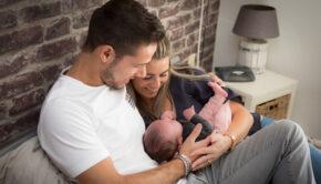 van baby naar dreumes, babylabel, jonge ouders, baby
