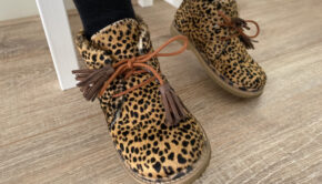 panterprint schoentjes, meisjesschoenen met panterprint
