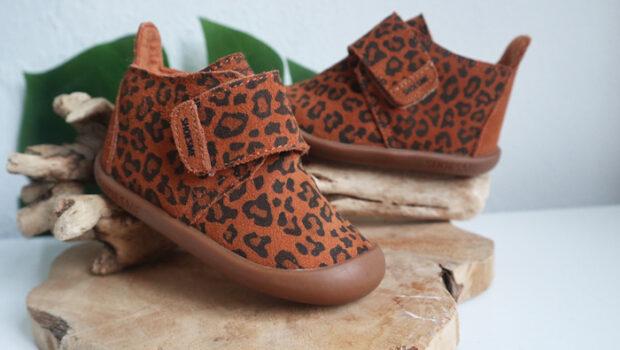 shoesme pantoffels, luipaard print pantoffel, luipaard print slofjes, babysloffen