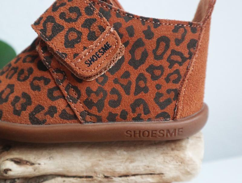 shoesme pantoffels, luipaard print pantoffel, luipaard print slofjes, babysloffen, babylabel