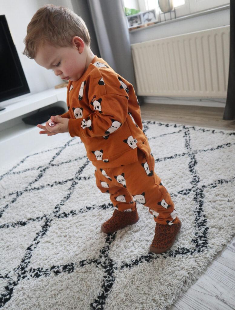 shoesme pantoffels, luipaard print pantoffel, luipaard print slofjes, babysloffen, babylabel.
