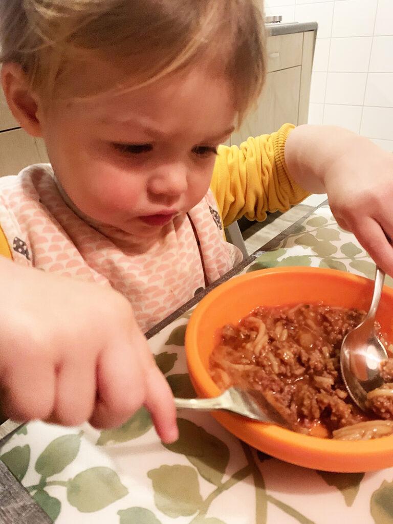 Lust-ik-niet fase, kind slechte eter, kind van 2 eet slecht, kind lust geen eten