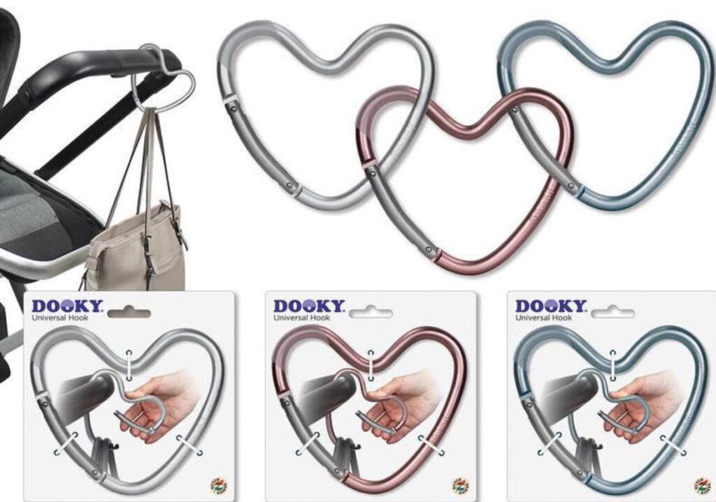 Dooky Heart Hook, kinderwagen haak