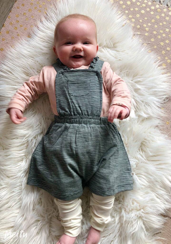 babymeisje, babyjurkje, duurzame babykleding