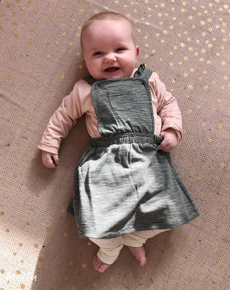 duurzaam babyjurkje, moodstreet petit, babyjurkje, baybmeisje, baby meisjes kleding, babykleding meisje, babykleding zomer 2020