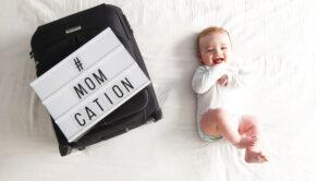 Momcation, me-time, mama, kersverse mama, mama vakantie