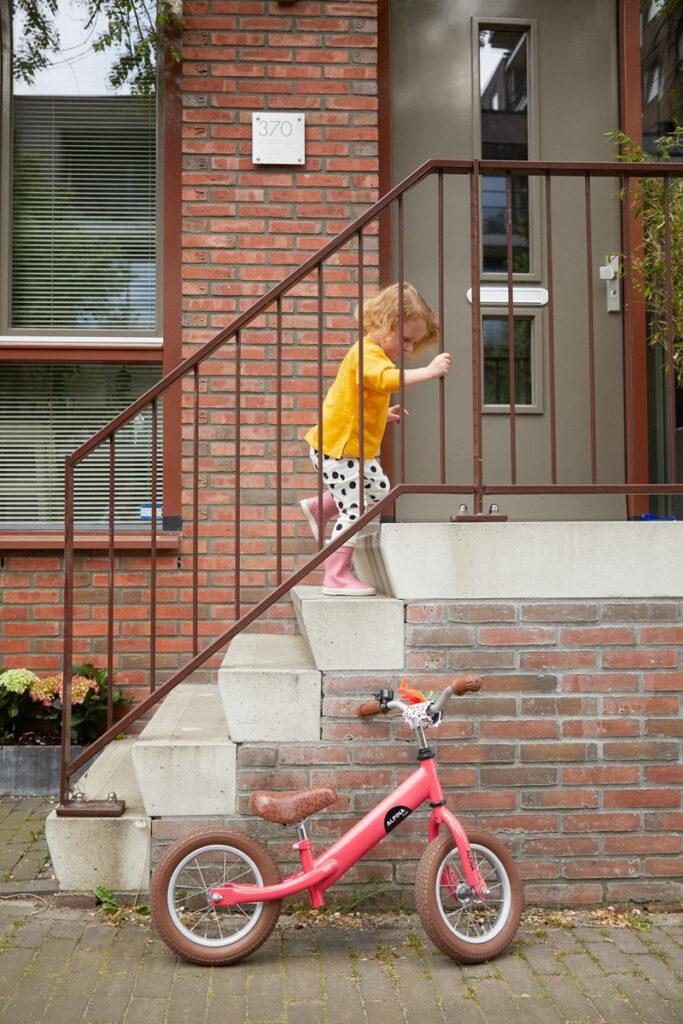 loopfietsje, leren fietsen, loopfietsje