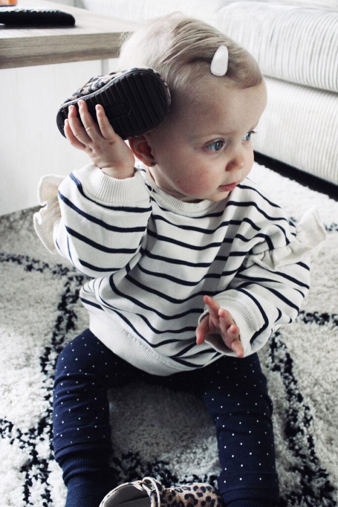 schoen als telefoon, baby, babyschoentjes, babyschoenen review