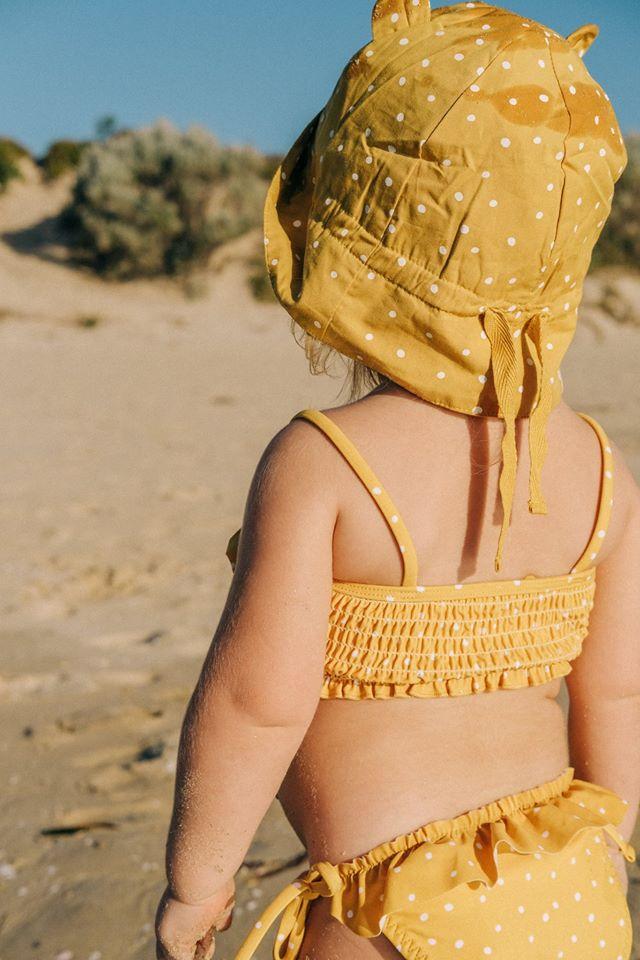 zonnehoedjes baby, zonnehoedje kind, lidwood, liewood zwemkleding, zwemkleding baby, zwemkleding voor babys, zwemkleding peuter, bikini meisje 1 jaar, bikini meisje 2 jaar, baby bikini