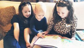 voorlezen kleine kinderen