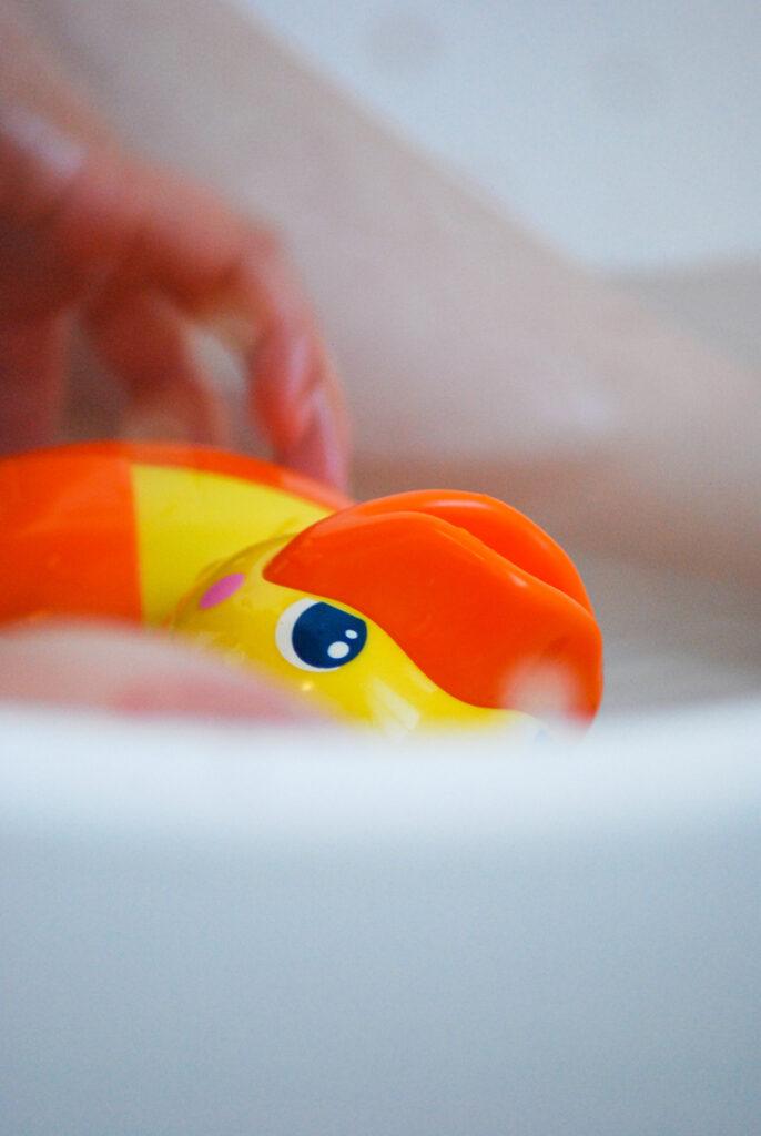 vtech badeend, badspeelgoed, vtech eend, speelgoed eend