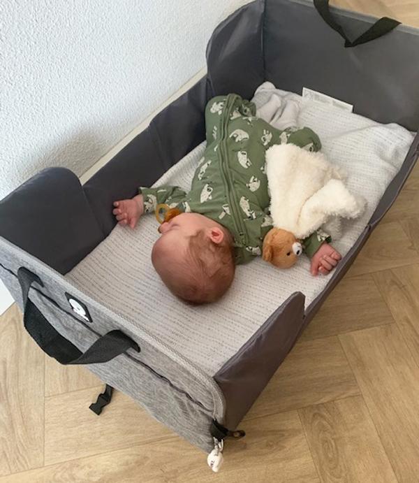 reiswieg baby test, dooky traveller.