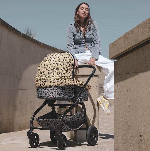 Wagle leopard reiswieg en buggy, Waggle kinderwagen