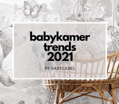 babykamer trends 2021, babykamer inspiratie, babykamer voorbeelden, genderneutrale babykamer, babykamer behang, duurzame babykamer, babykamer duurzaam
