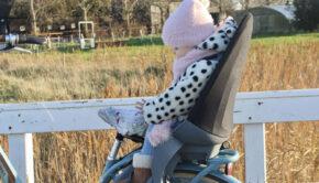 fietsen met je kleintje, qibbel, qibbel fietsstoeltje, qibbel achterzitje, achterzitje fiets
