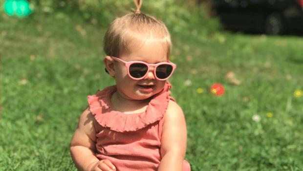 Goodcha, baby zonnebril, kinder zonnebril, veilige baby bril, goodcha kinderzonnebril