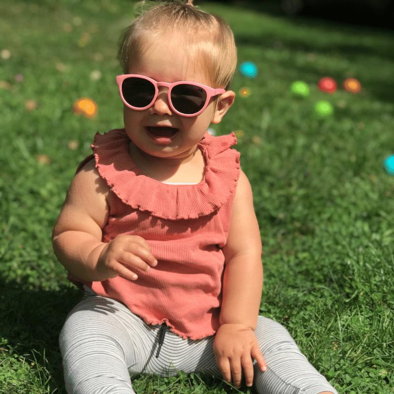 Goodcha, baby zonnebril, kinder zonnebril, veilige baby bril, kinderzonnebril