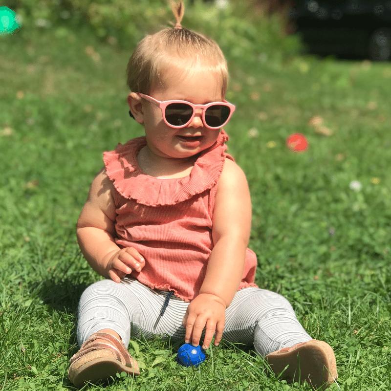 Goodcha, baby zonnebril, kinder zonnebril, veilige baby bril