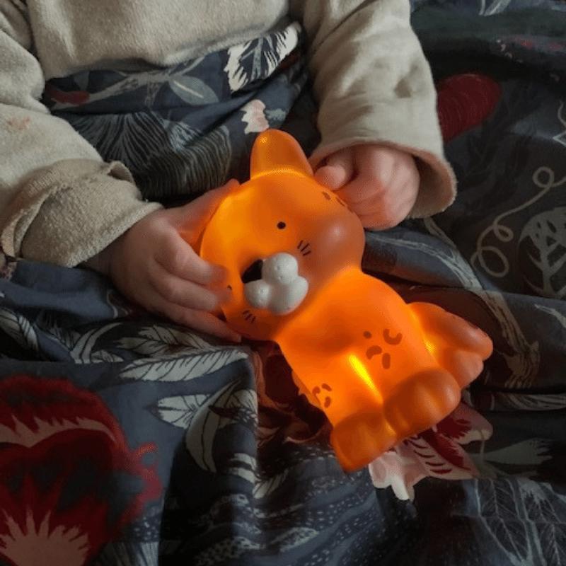luipaard nachtlampje, little light leopard, a little lovely company, nachtlampje, kinderlampje