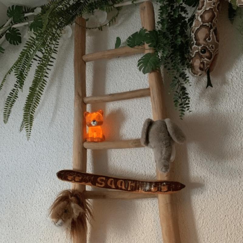 jungle kinderkamer, jungle slaapkamer