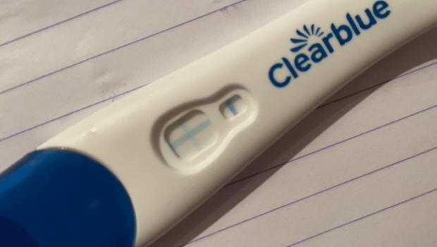 positieve zwangerschapstest, zwangerschapstest